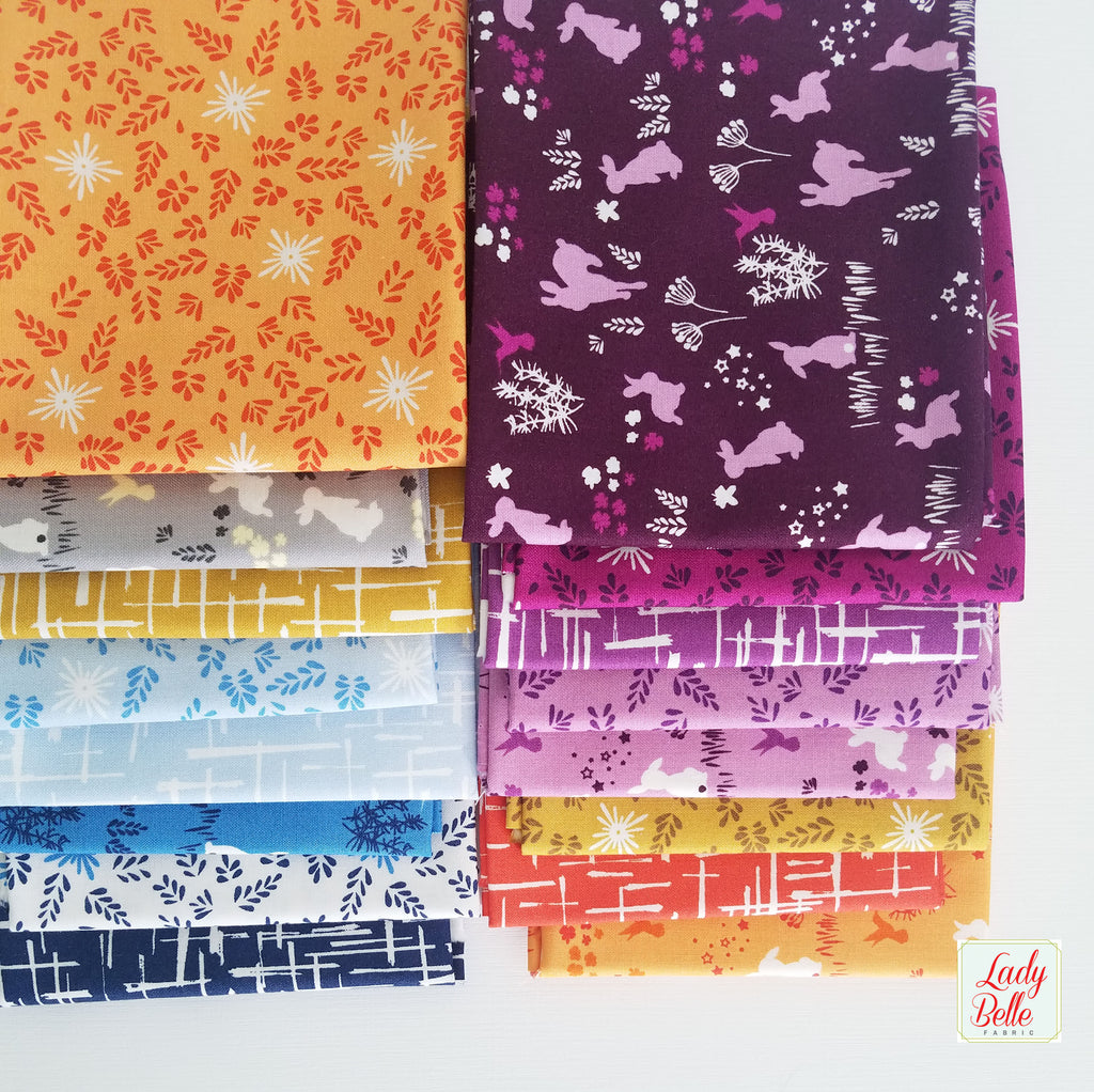 House of Hoppington by Violet Craft for Michael Miller Fat Quarter Bundle