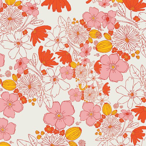 Art Gallery Fabrics Leas Bloom Blush