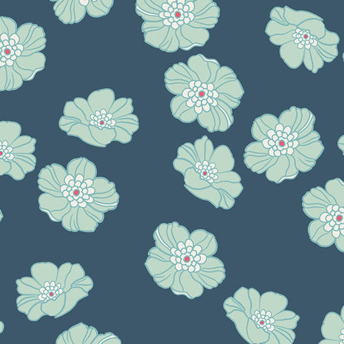 Nouvelle by Pat Bravo for Art gallery Fabrics Falling Cloudberry - Lady Belle Fabric