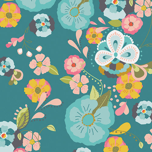Summer Flowers Half Yard Bundle With Art Gallery Fabrics