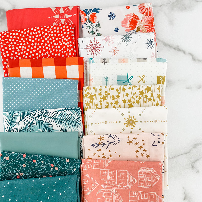 Flower Show Winter by Liberty of London for Riley Blake Designs Half Yard Bundle