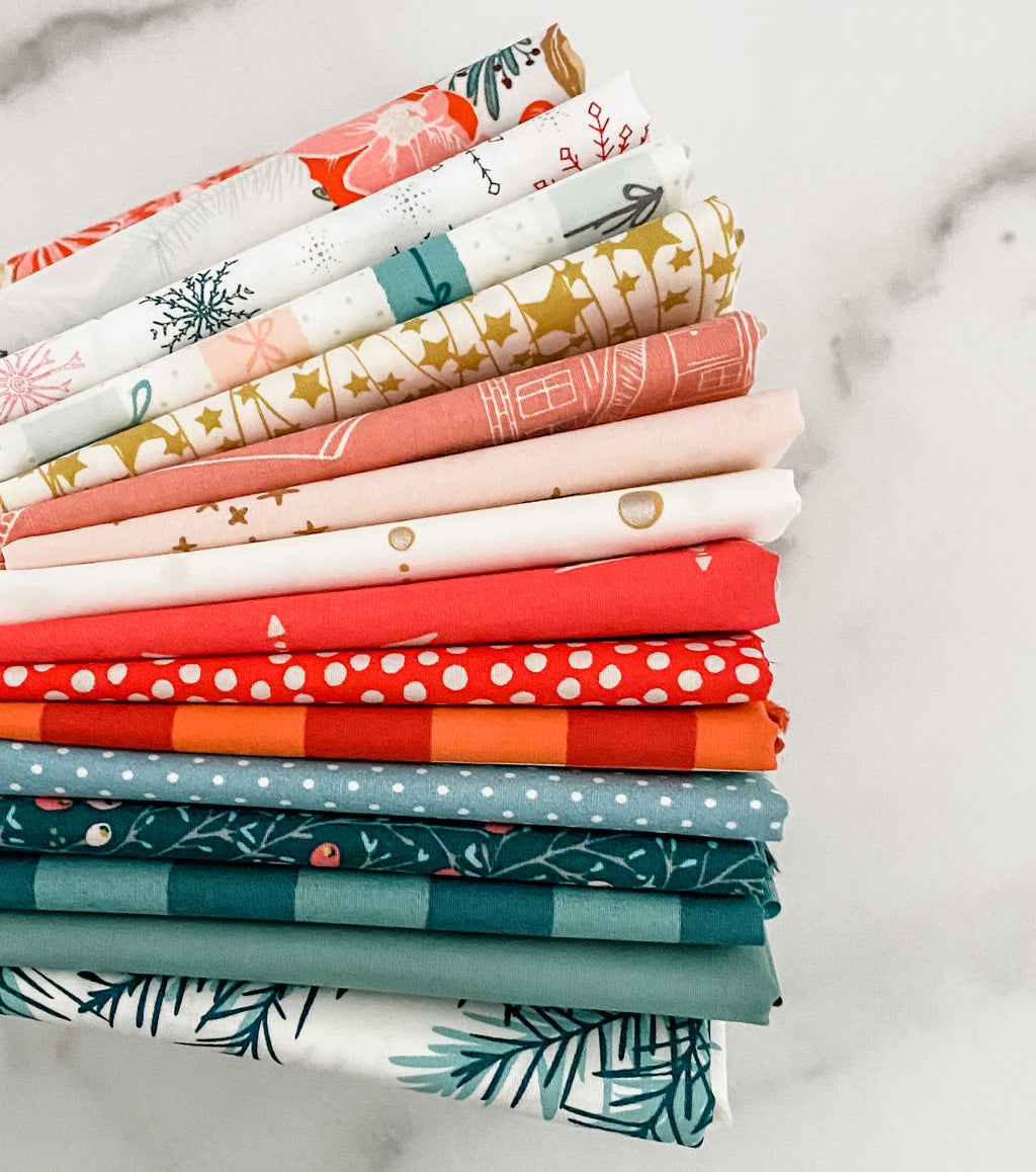 Happy Christmas 2 from Art Gallery Fabrics Fat Quarter Bundle