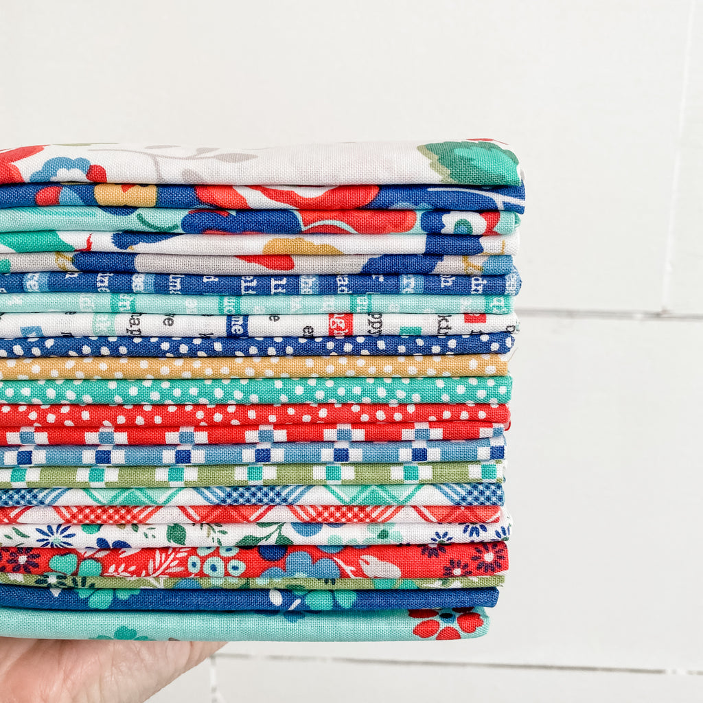 Backyard Blooms by Allison Harris for Windham Fabrics Fat Quarter Bundle
