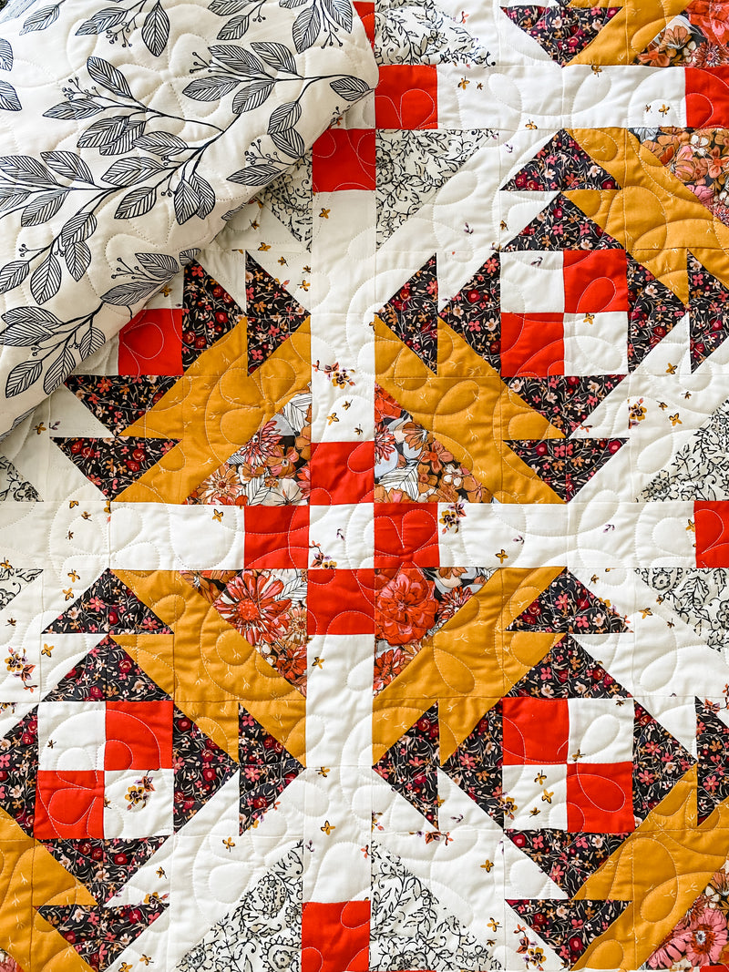 Prickly Pear Baby Quilt Kit by Sharon Holland featuring Kismet Fabrics