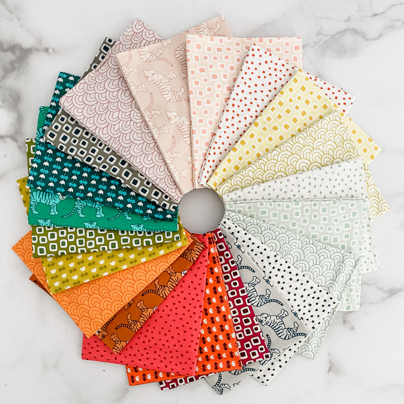 Library by Elizabeth Hartman for Robert Kaufman Fat Quarter Bundle