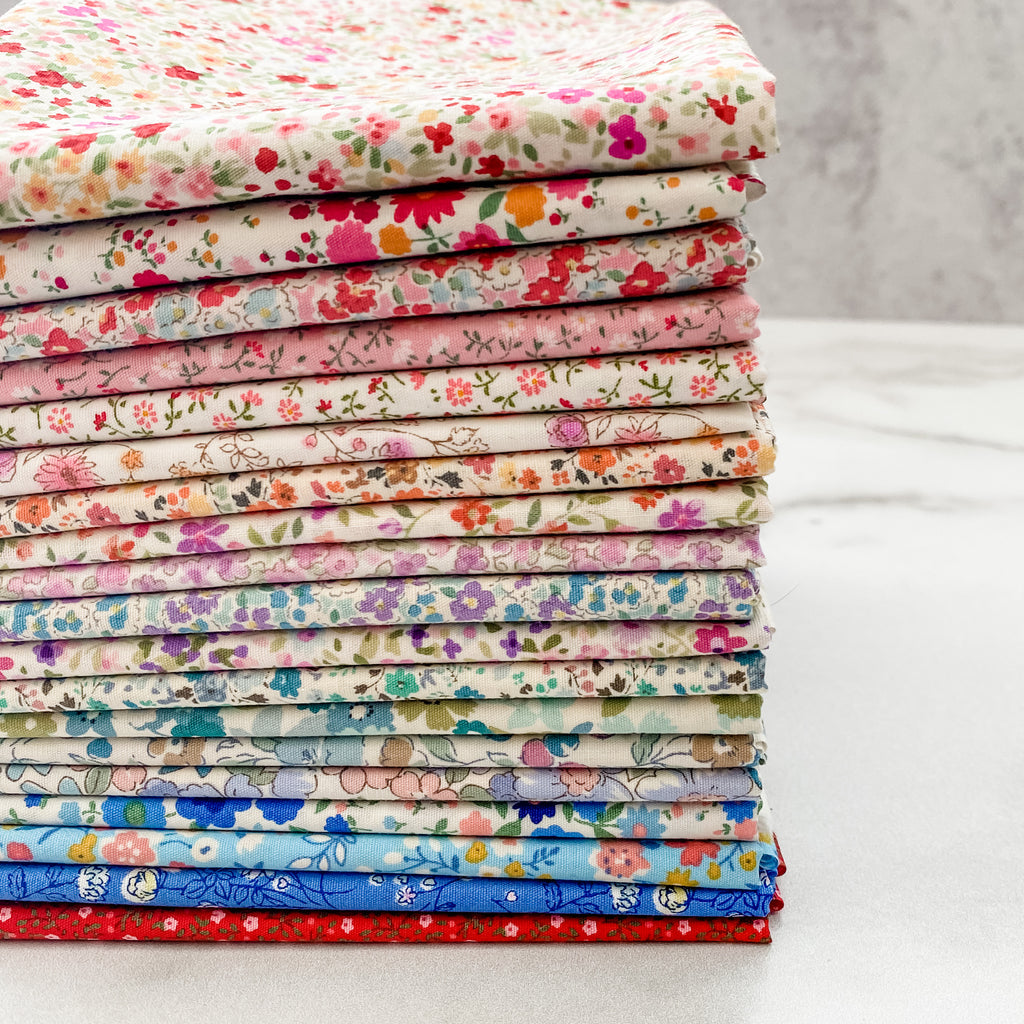 Sevenberry Florals from Robert Kaufman Fat Quarter Bundle