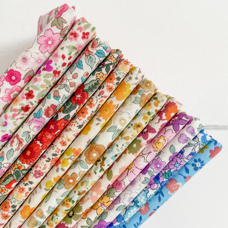 Sevenberry Florals for Robert Kaufman Half Yard Bundle