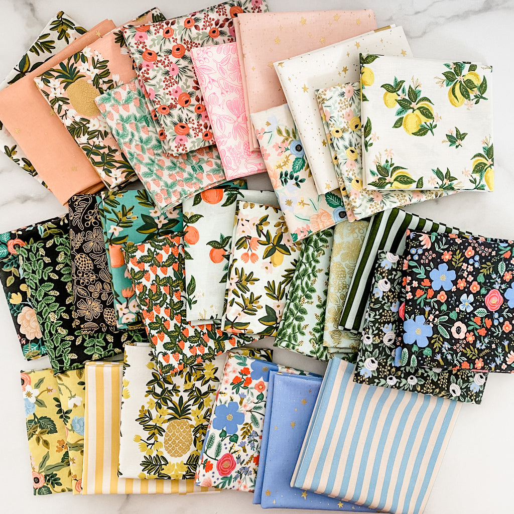 Primavera by Rifle Paper Co for Cotton and Steel Fat Quarter Bundle
