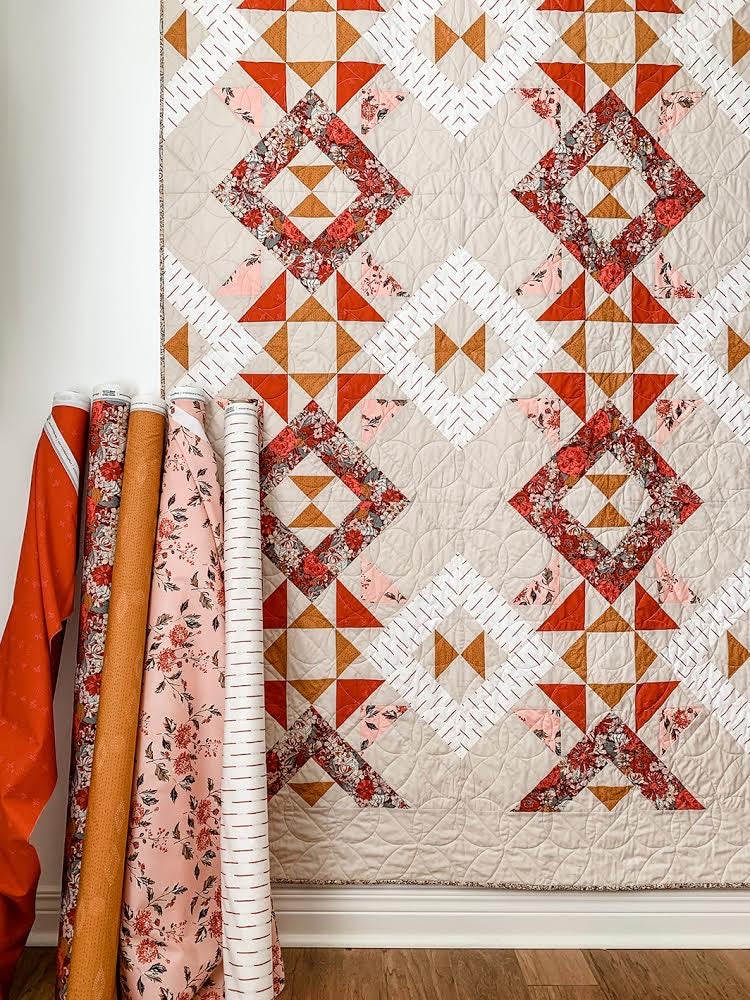 Kismet Trapeze Quilt Kit by Sharon Holland