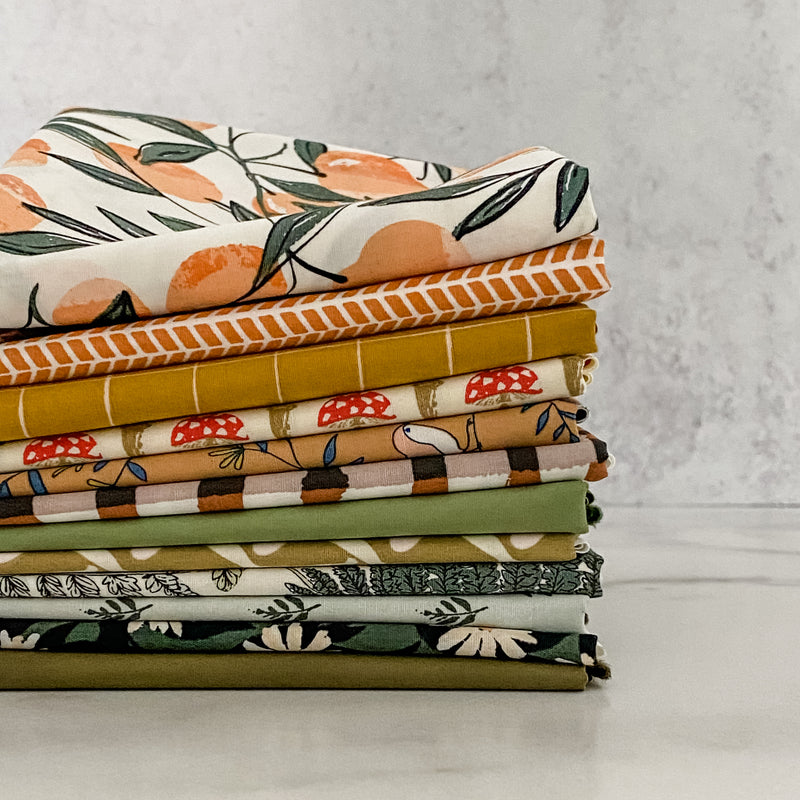 Autumn Sunday from Art Gallery Fabrics Half Yard Bundle