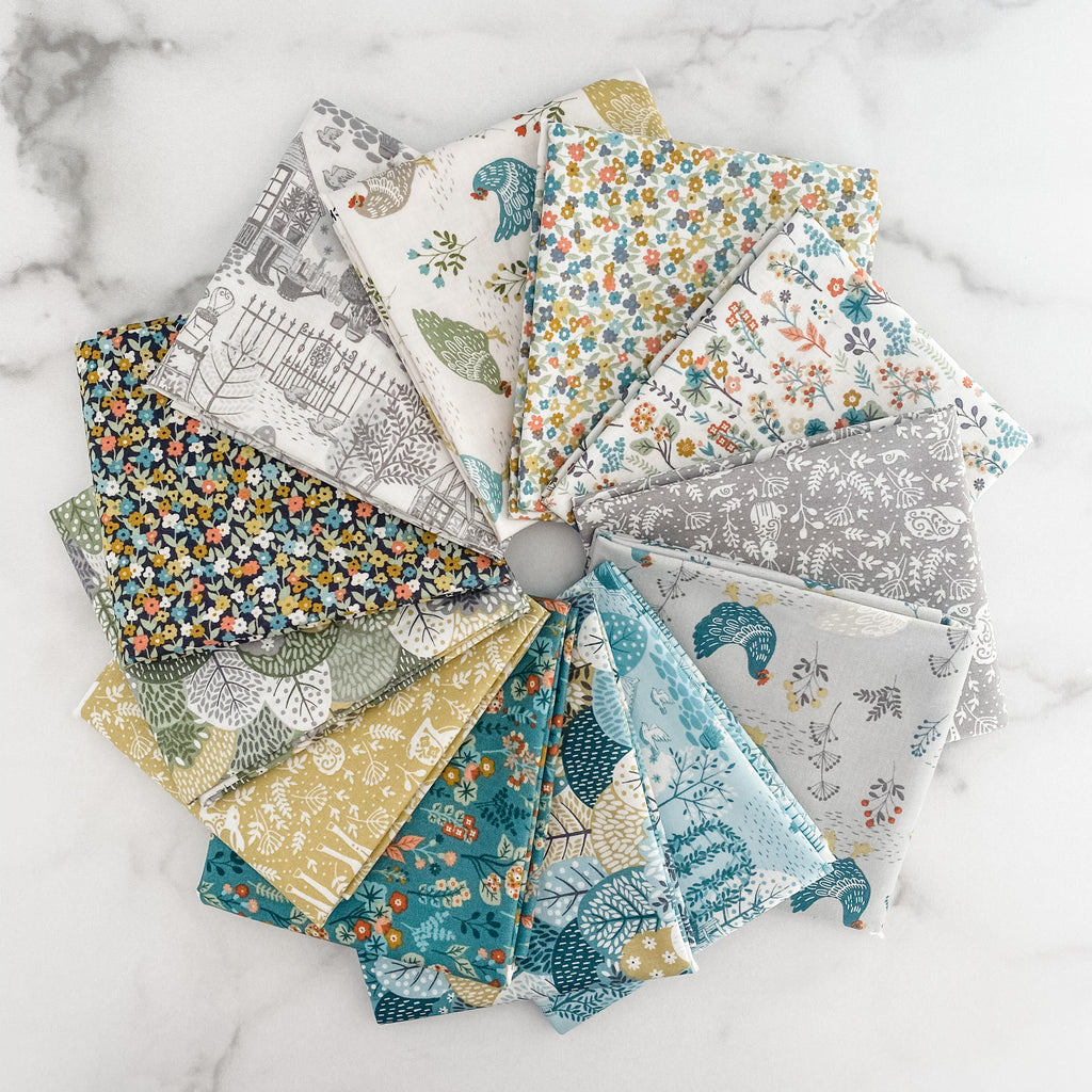 Claras Garden by Makower UK Fat Quarter Bundle