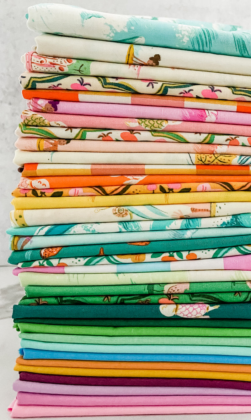 Malibu Basics by Heather Ross for Windham Fabrics Half Yard Bundle