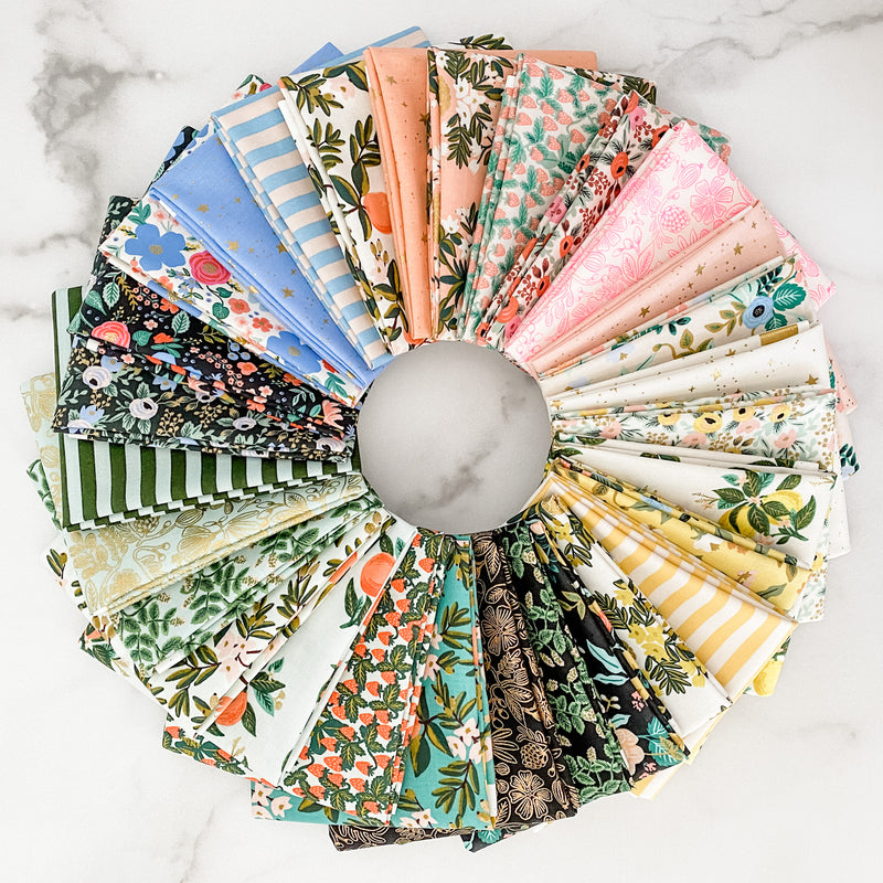 Primavera by Rifle Paper Co for Cotton and Steel Half YardBundle