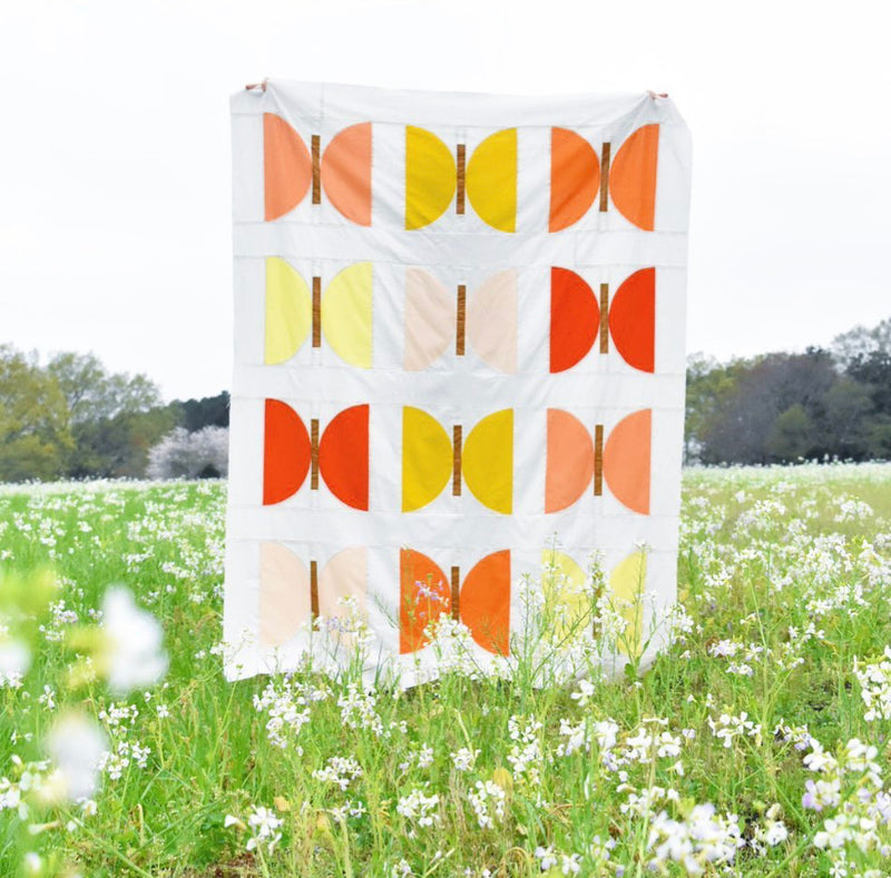 Flower Fields Metamorphosis Quilt Kit from Lo and Behold Stitchery