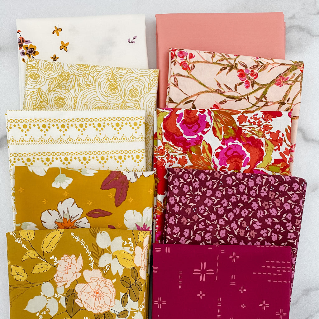 Warm Honey by Art Gallery Fabrics Half Yard Bundle