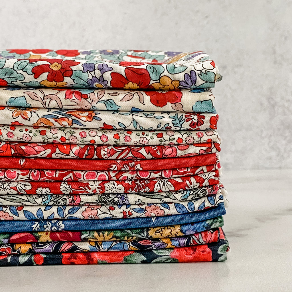 Flower Show Winter by Liberty of London for Riley Blake Designs Fat Quarter Bundle
