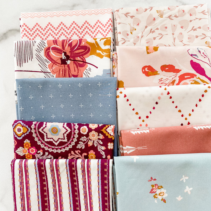 Rosewood Fusion by Art Gallery Fabrics Fat Quarter Bundle