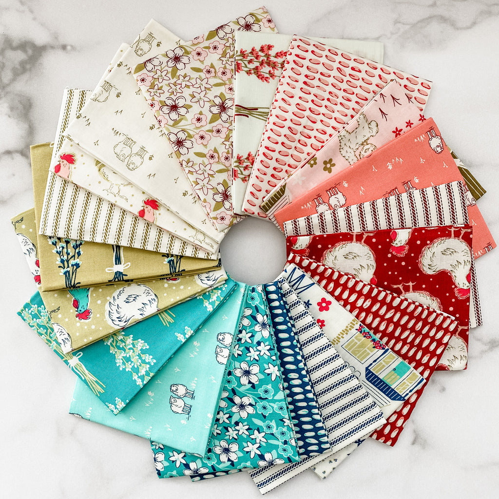 Homestead Life by Judy Jarvi for Windham Fabrics Fat Quarter Bundle