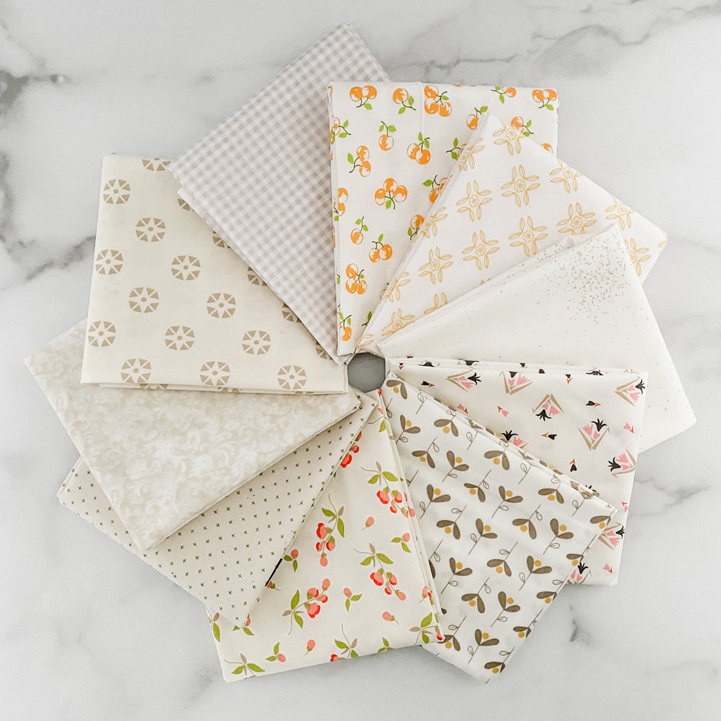 Berries and Cream Low Volume Fat Quarter Bundle