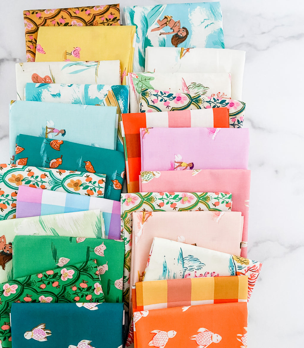 Malibu by Heather Ross for Windham Fabrics Fat Quarter Bundle