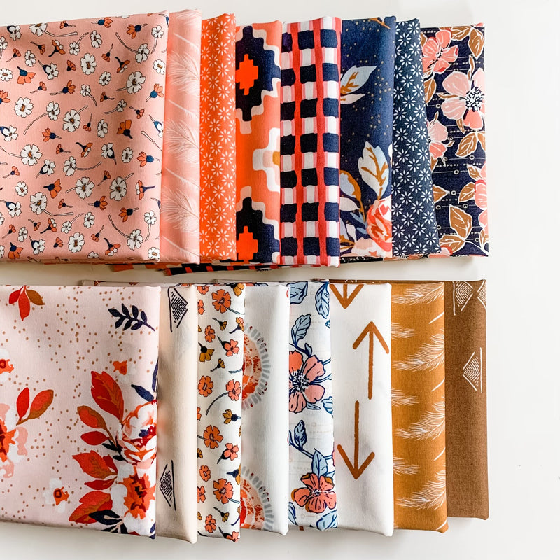 Homebody by Maureen Cracknell for Art Gallery Fabrics Half Yard Bundle