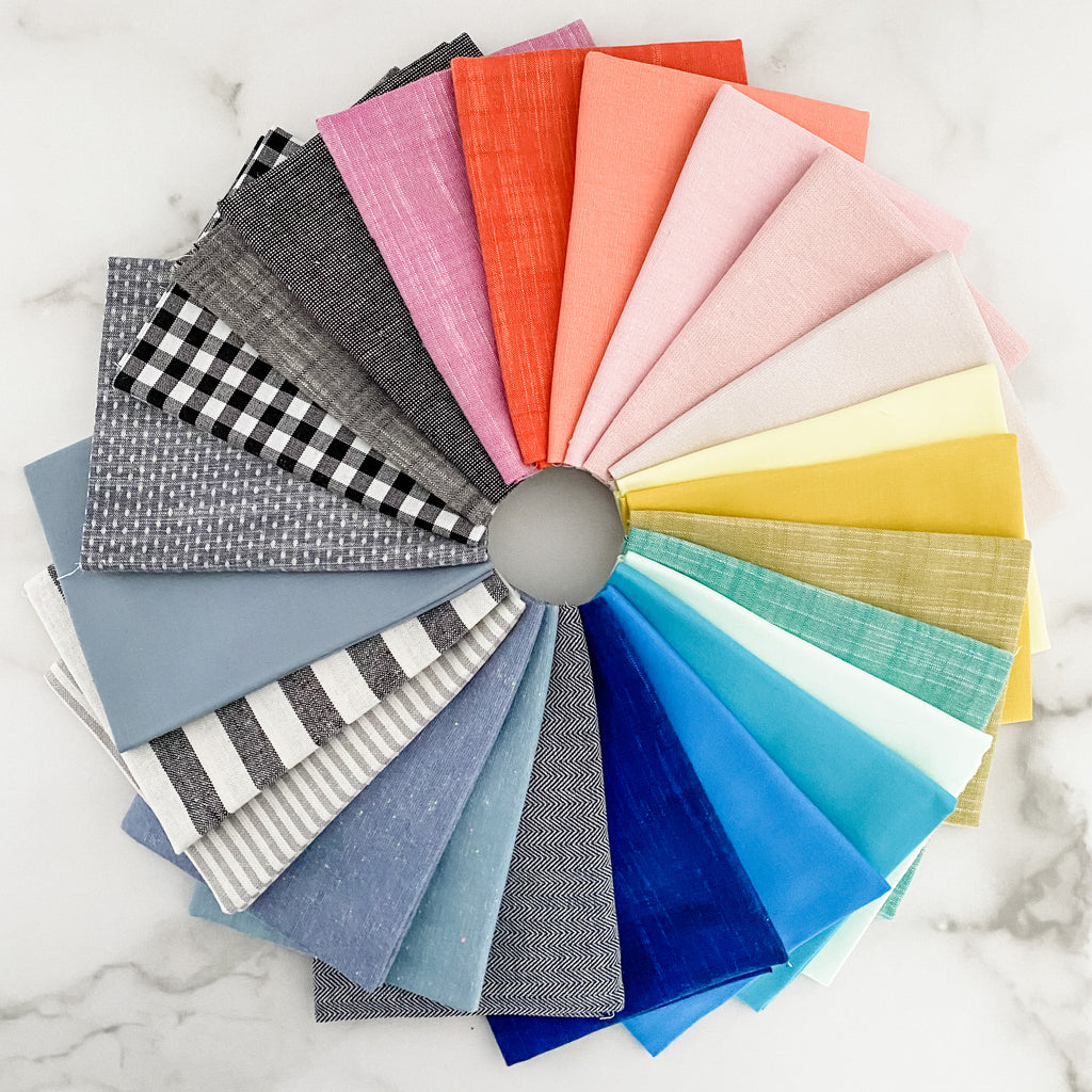Then Came June Basics for Robert Kaufman Fat Quarter Bundle