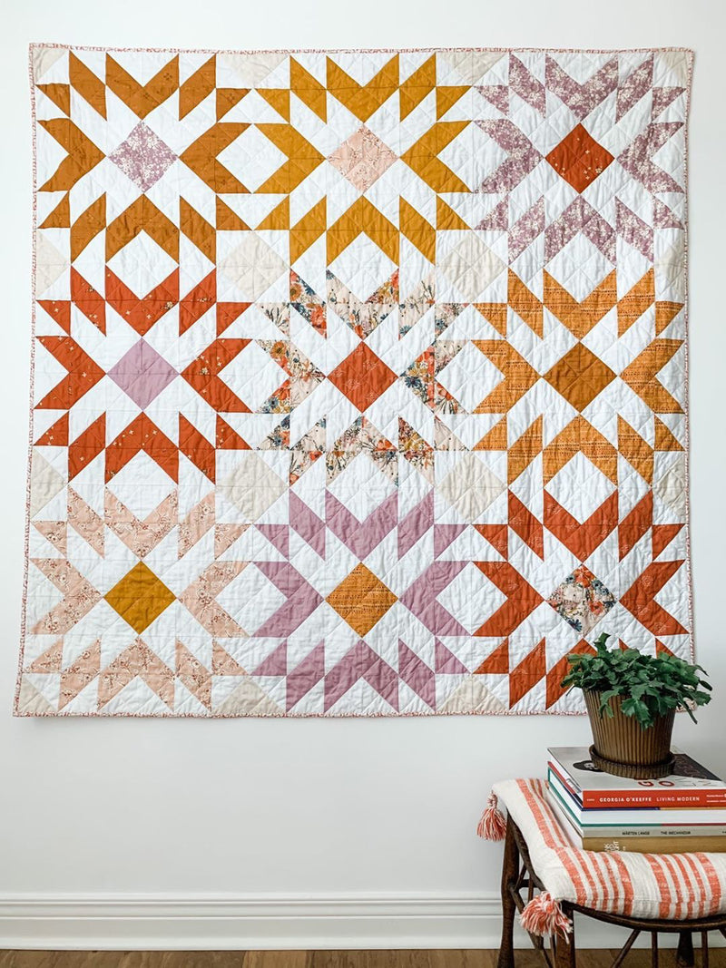 Phoenix Quilt Kit by Sharon Holland