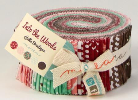 Into the Woods by Lella Boutique for Moda Jelly Roll - Lady Belle Fabric