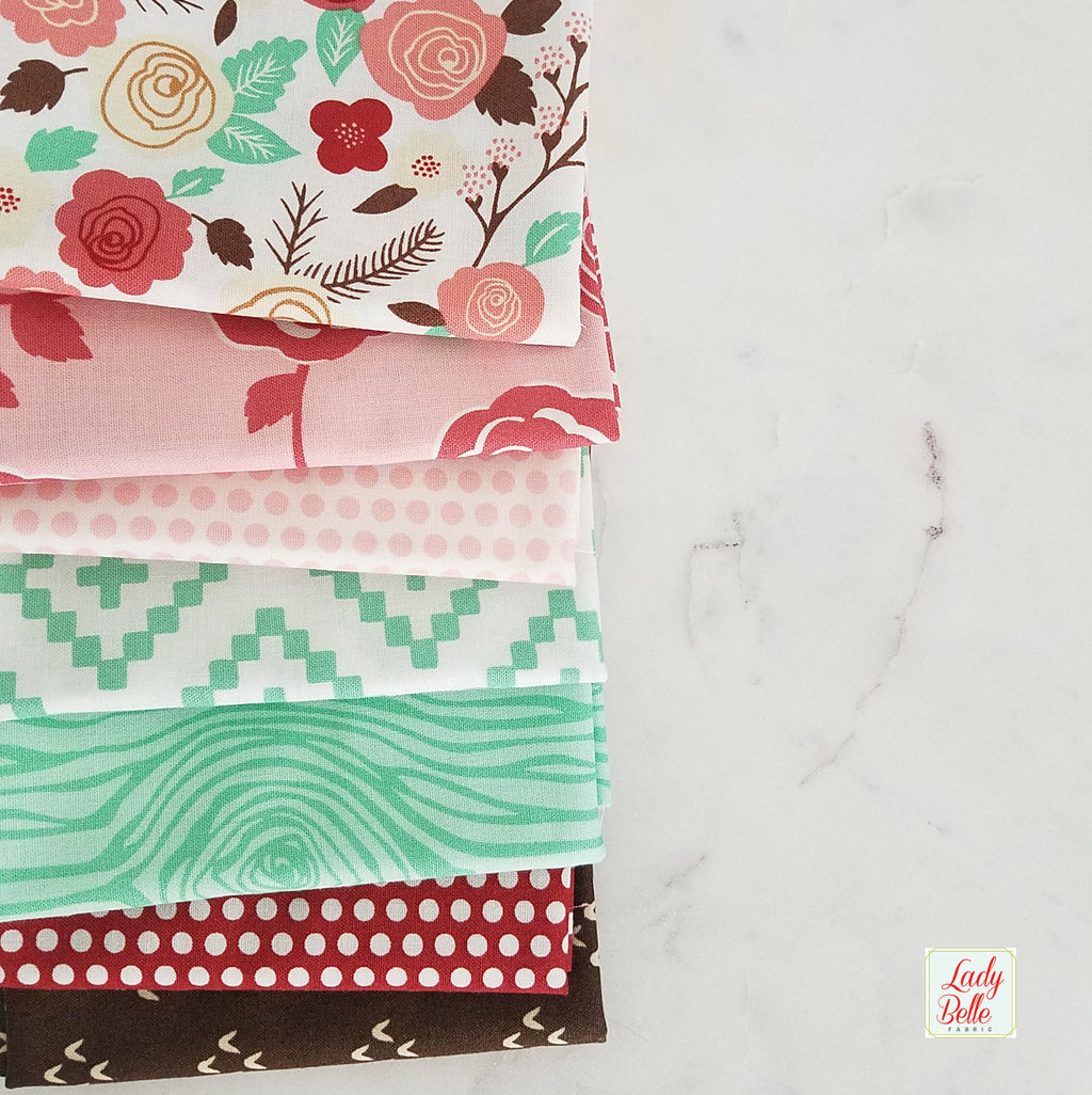 Moda Into the Woods by Lella Boutique 7 Fat Quarter Bundle