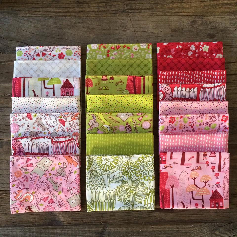 Just Another Walk in the Woods by Stacey Iest Hsu for Moda Fat Quarter Bundle