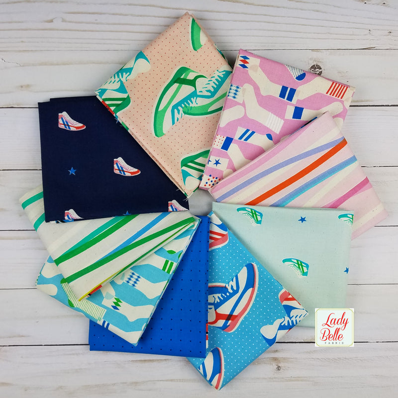 Kicks by Melody Miler for Cotton and Steel Half Yard Bundle