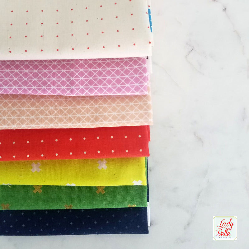 Les Fleurs by Rifle Paper Co for Cotton + Steel Fat Quarter Bundle