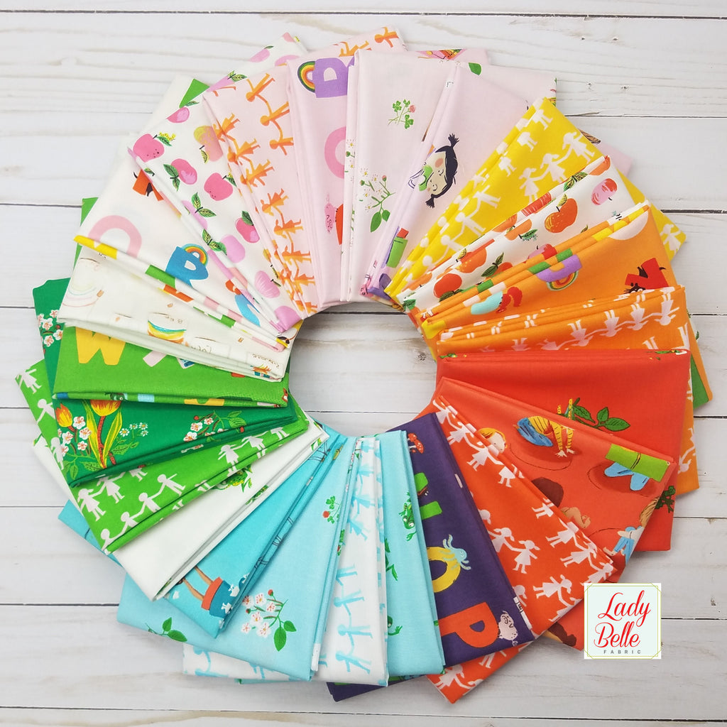 Kinder by Heather Ross for Windham Fabrics Fat Quarter Bundle