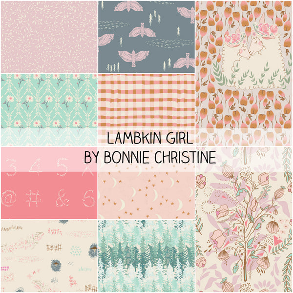 Lambkin Thistle by Bonnie Christine for Art Gallery Fabrics Half Yard Bundle