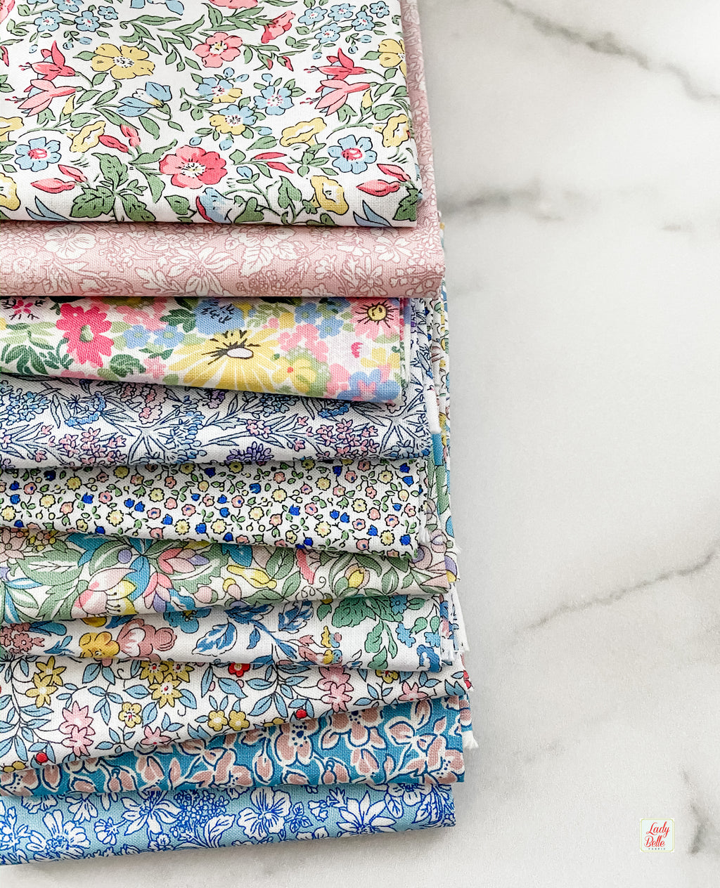 Flower Show Spring by Liberty of London for Riley Blake Designs Half Yard Bundle