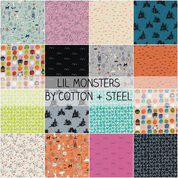 Lil Monsters by Cotton and Steel Half Yard Bundle
