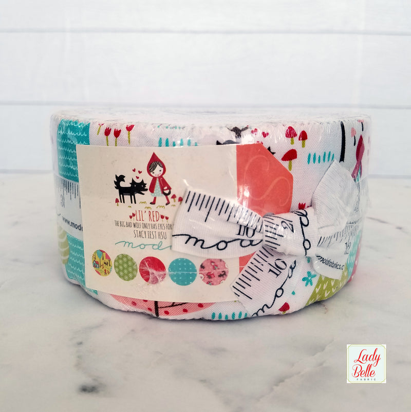 Cookie Exchange Jelly Roll by Sweetwater for Moda