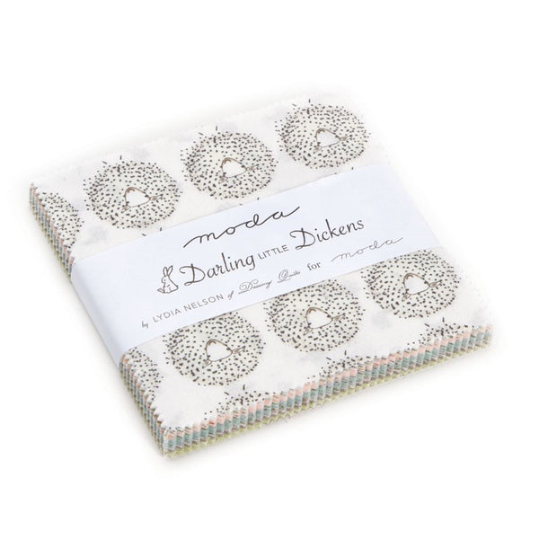 Darling Little Dickens Charm Pack by Lydia Nelson for Moda