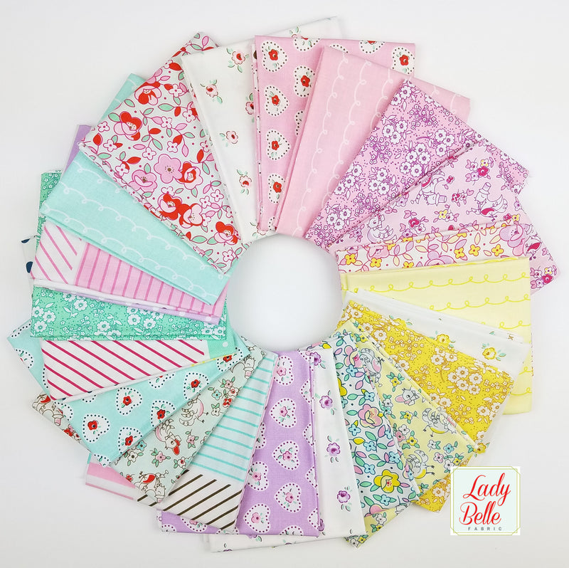 Little Dolly by Elea Lutz for Penny Rose Fabrics Fat Quarter Bundle