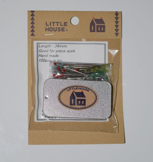 Little House Pins - Lady Belle Fabric