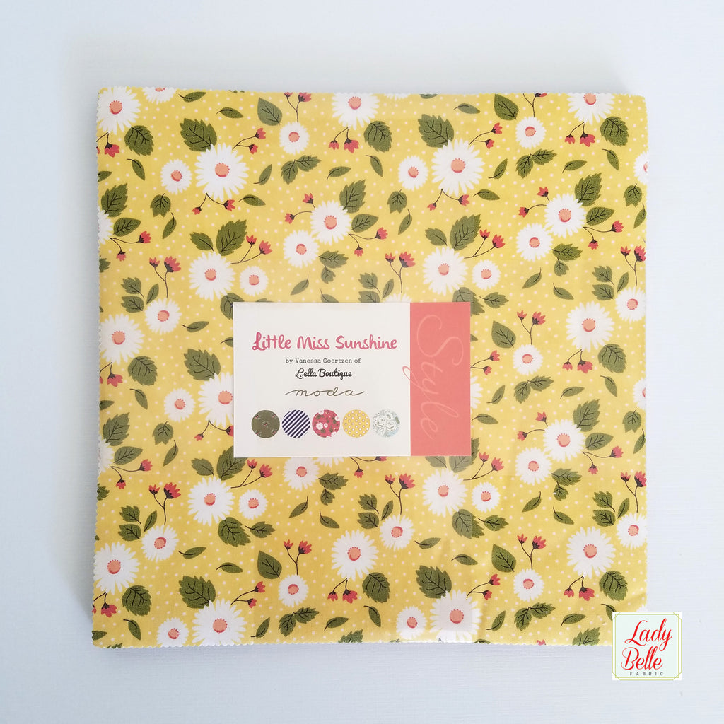 Little Miss Sunshine by Lella Boutique for Moda Layer Cake