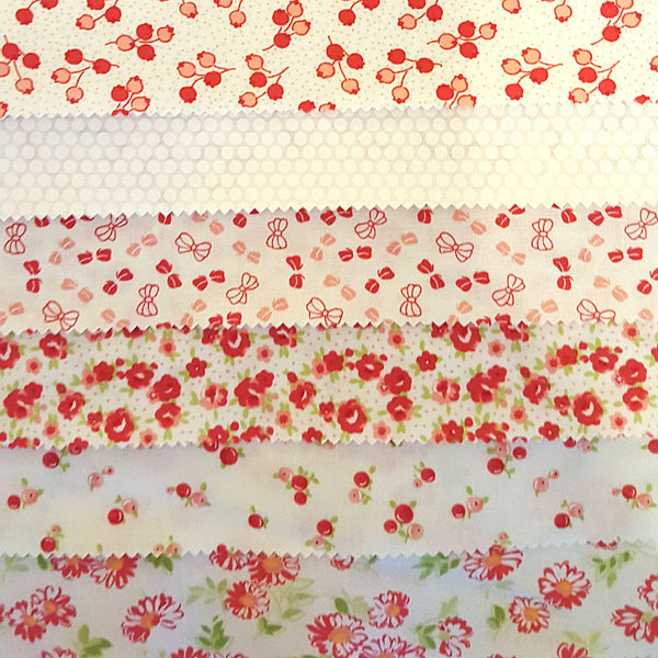 moda, little ruby fabric