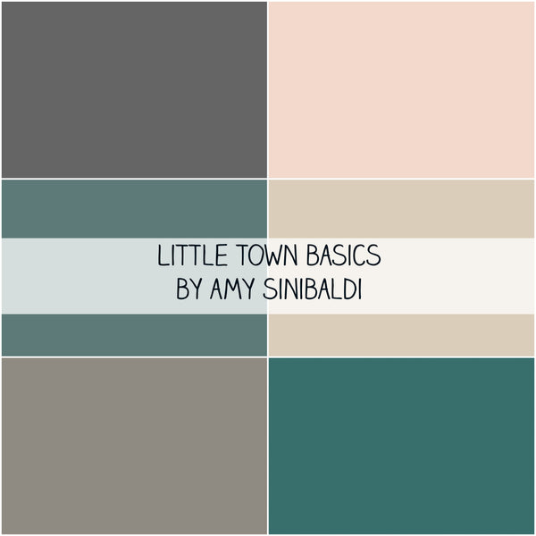 Little Town Basics by Amy Sinibaldi for Art Gallery Fabrics Fat Quarter Bundle