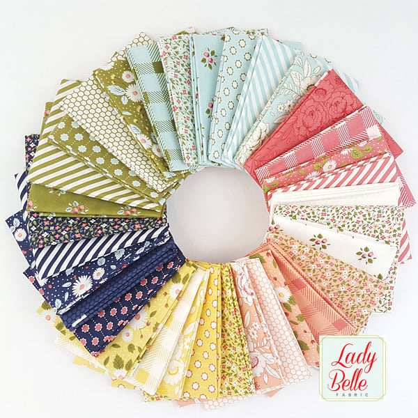 Little Miss Sunshine by Lella Boutique for Moda Fat Quarter Bundle