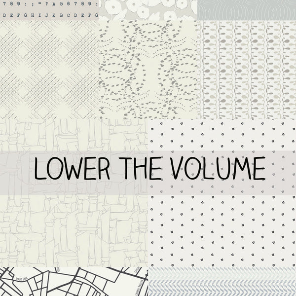 Lower the Volume by Art Gallery Fabrics Half Yard Bundle