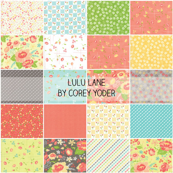 Lulu Lane by Corey Yoder for Moda Half Yard Bundle