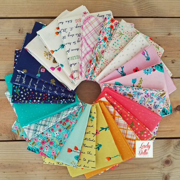 Meriwether by Amy Gibson for Windham Fabrics Fat Quarter Bundle