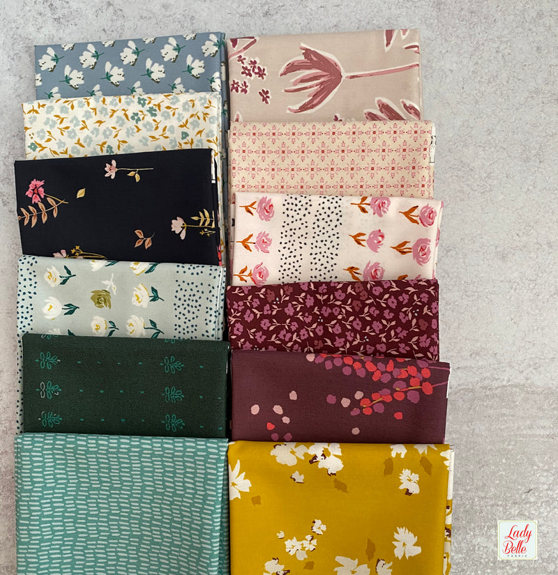 Mayfair by Amy Sinibaldi for Art Gallery Fabrics Half Yard Bundle