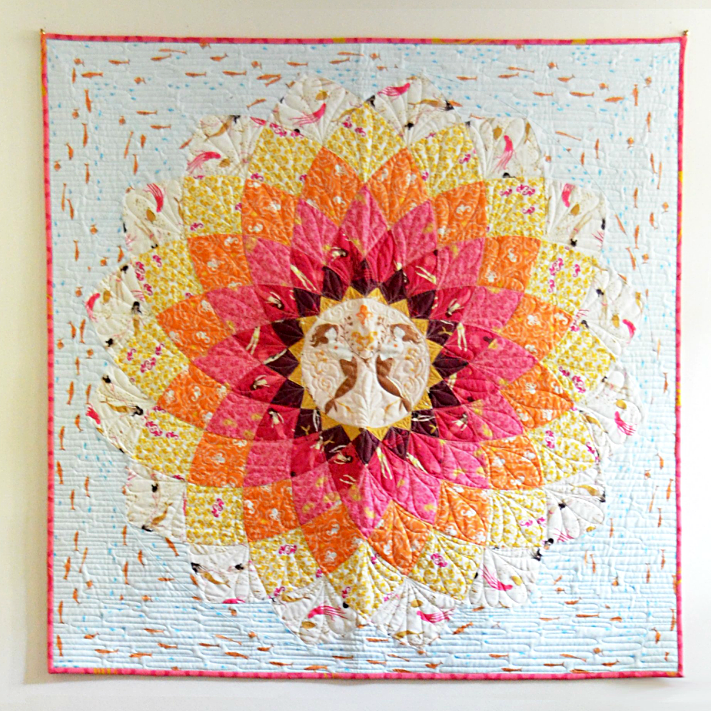 Handmade Quilt Kit by Bonnie and Camille for Moda
