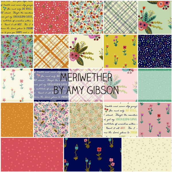 Meriwether by Amy Gibson for Windham Fabrics Half Yard Bundle